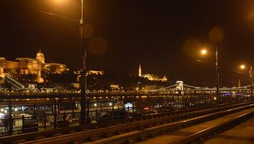 Buda Castle across Danube river- Budapest by Yogesh Aggrawal